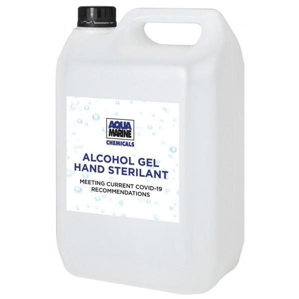 Alcohol Gel 70% 4 x 5 Litres - Antibacterial Hand Sanitiser