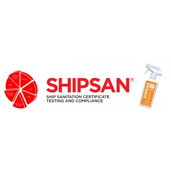 Shipsan Spray Sterilant 500ml (Pack 6 x 500ml)